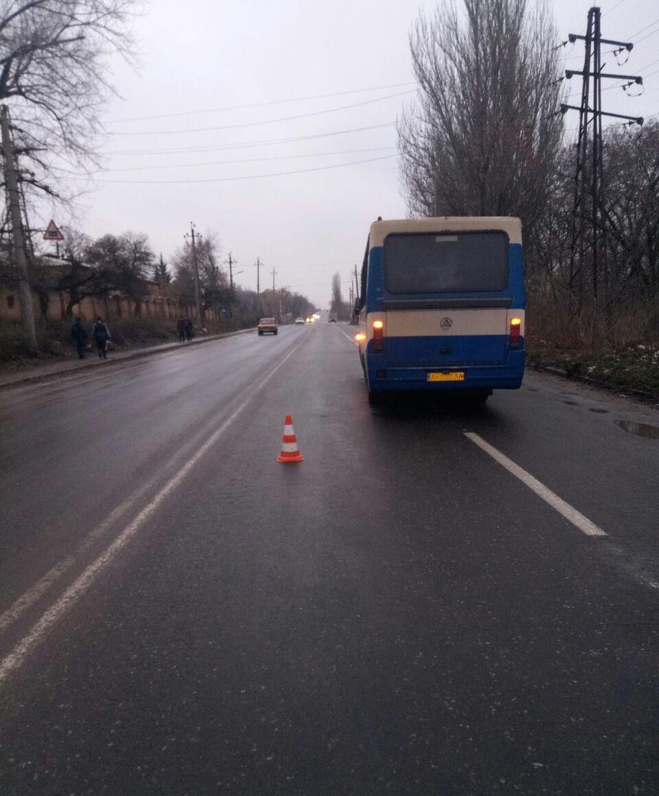 Житель Краматорска оказался под колесами рейсового автобуса, фото-1