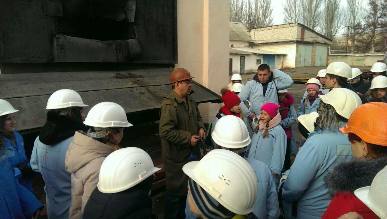 Дети полицейских Краматорска побывали на экскурсии в Соледаре, фото-1