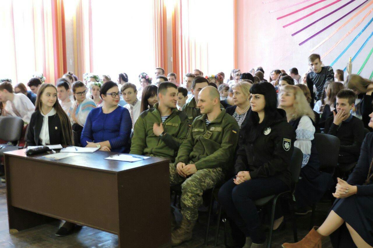 Дети Краматорска поздравили защитников с Днем Вооруженных сил Украины, фото-2