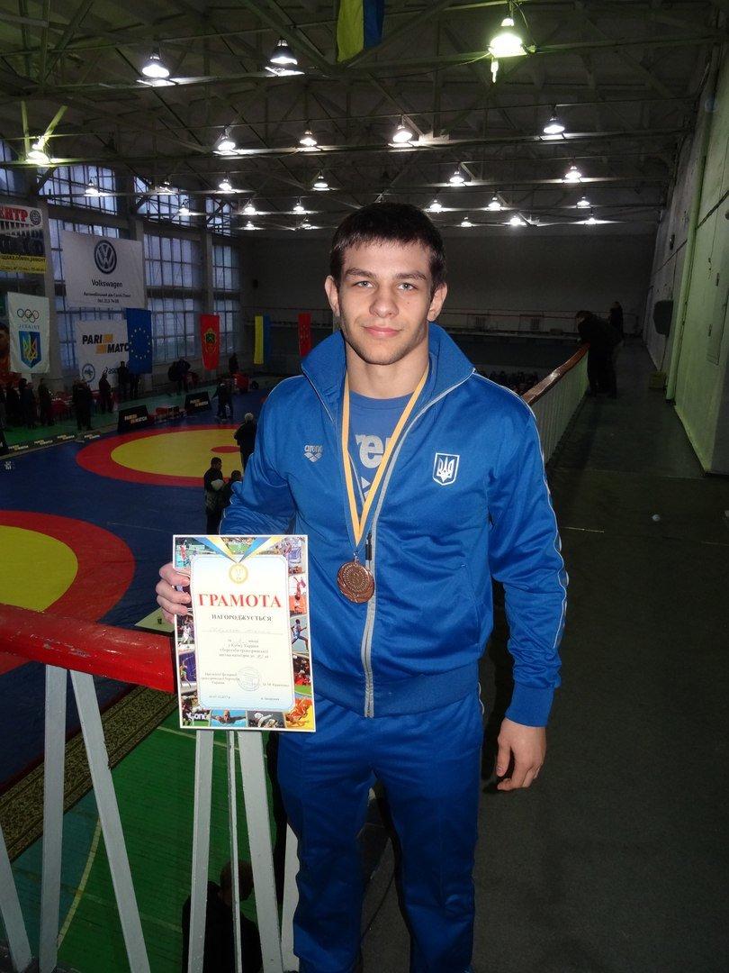 Краматорчанин вновь поднялся на пьедестал взрослого чемпионата Украины, фото-1