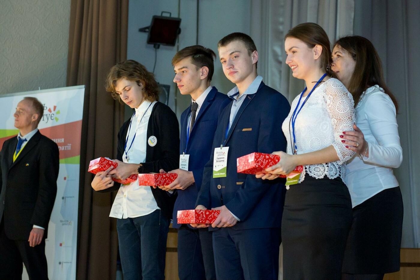 Школьница из Краматорска вышла в финал всеукраинского немецко-украинского проекта «Молодь дебатує», фото-1