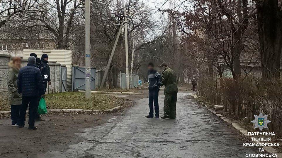 В Краматорске задержан злоумышленник, пытавшийся ограбить пенсионерку, фото-1