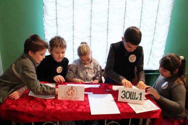 Школьники Краматорска соревновались в знаниях о новогодних праздниках, фото-2