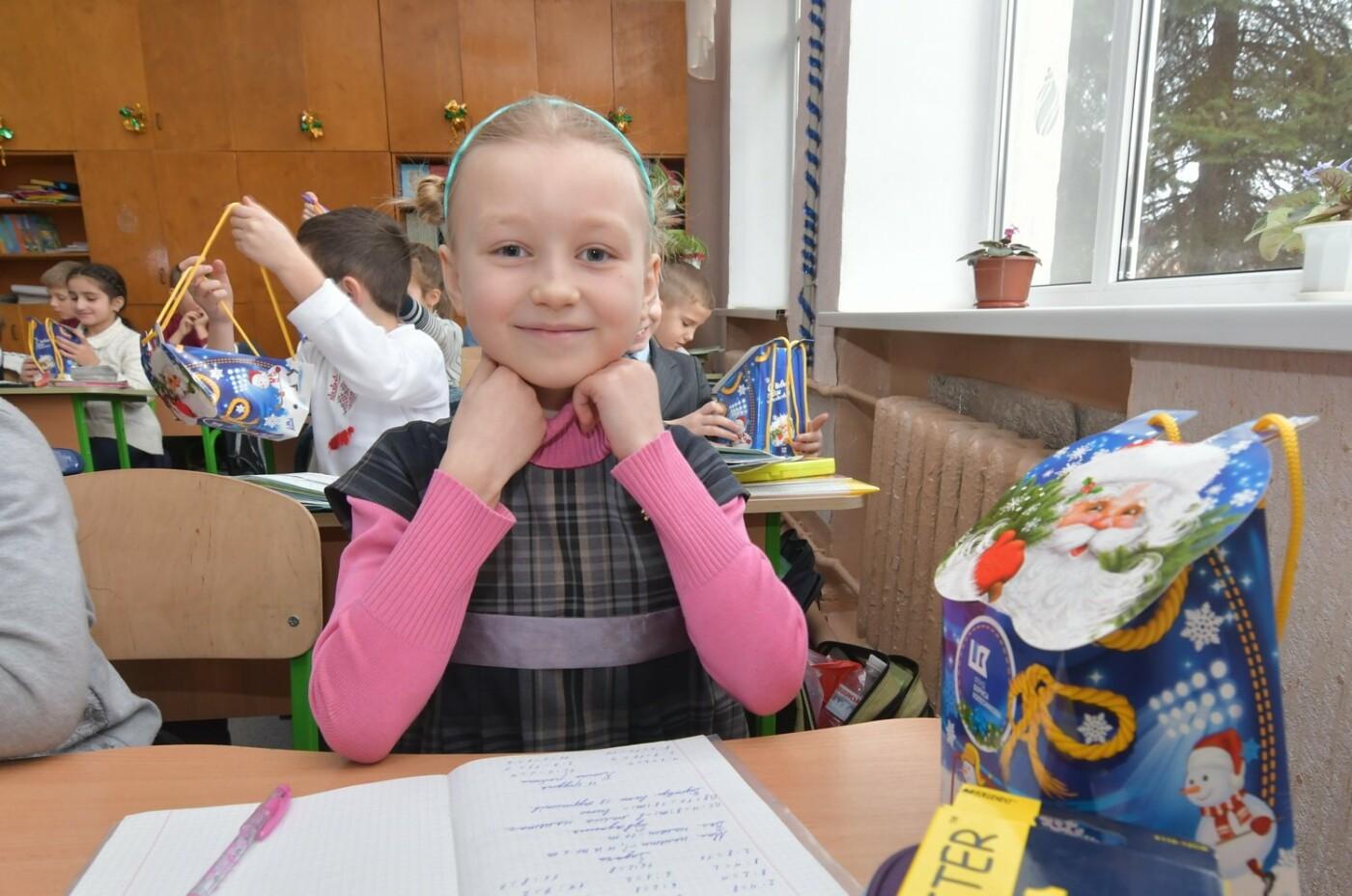Фонд Бориса Колесникова передал в школы Краматорска сладкие наборы к новогодним праздникам, фото-4