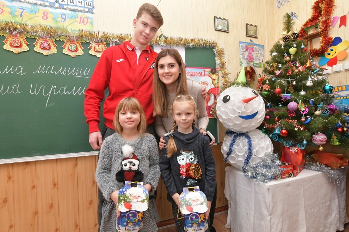 Фонд Бориса Колесникова передал в школы Краматорска сладкие наборы к новогодним праздникам, фото-1