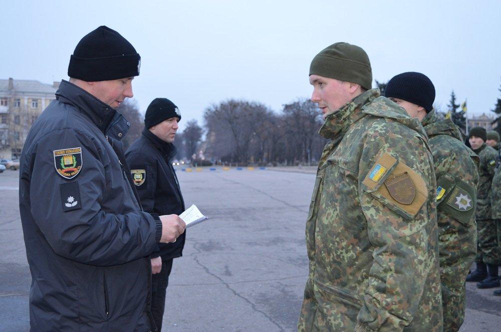 Полицейские Краматорска заступили на дежурство, фото-1