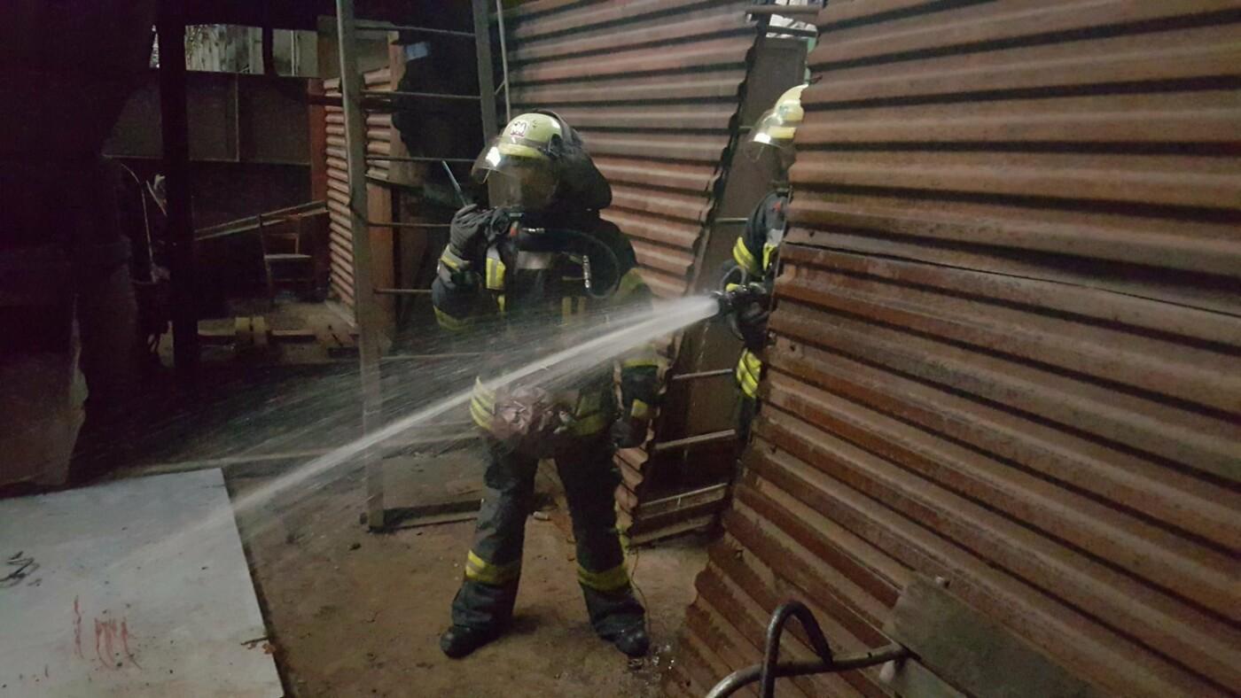 На СКМЗ учились спасаться от пожаров, фото-2