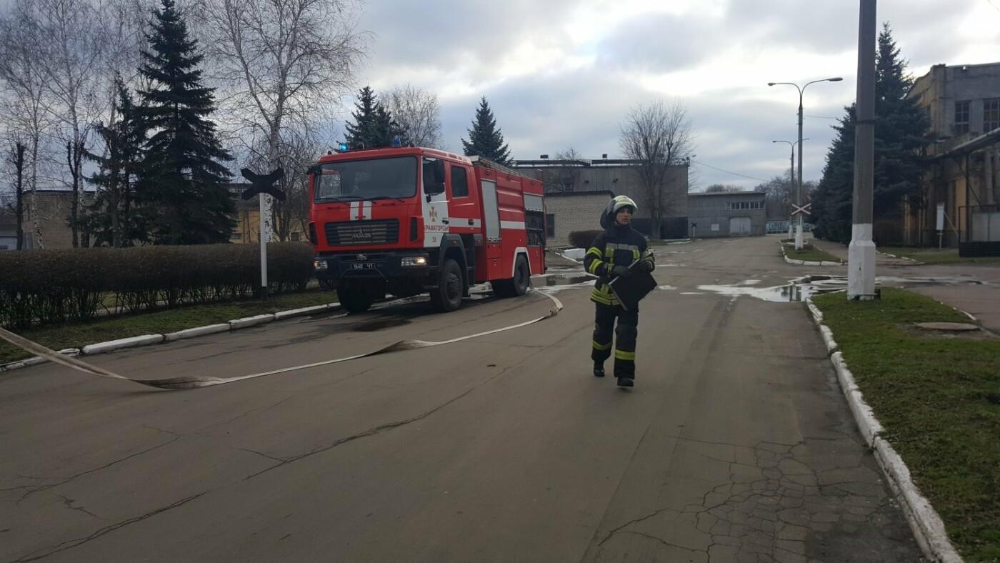 На СКМЗ учились спасаться от пожаров, фото-1