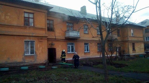 В Краматорске горел многоквартирный дом по ул. Героев Небесной Сотни, фото-1