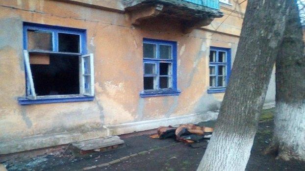 В Краматорске горел многоквартирный дом по ул. Героев Небесной Сотни, фото-2