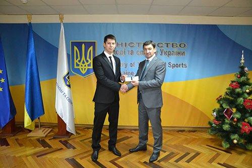 Кикбоксер из Краматорска получил звание Заслуженного мастера спорта Украины, фото-1