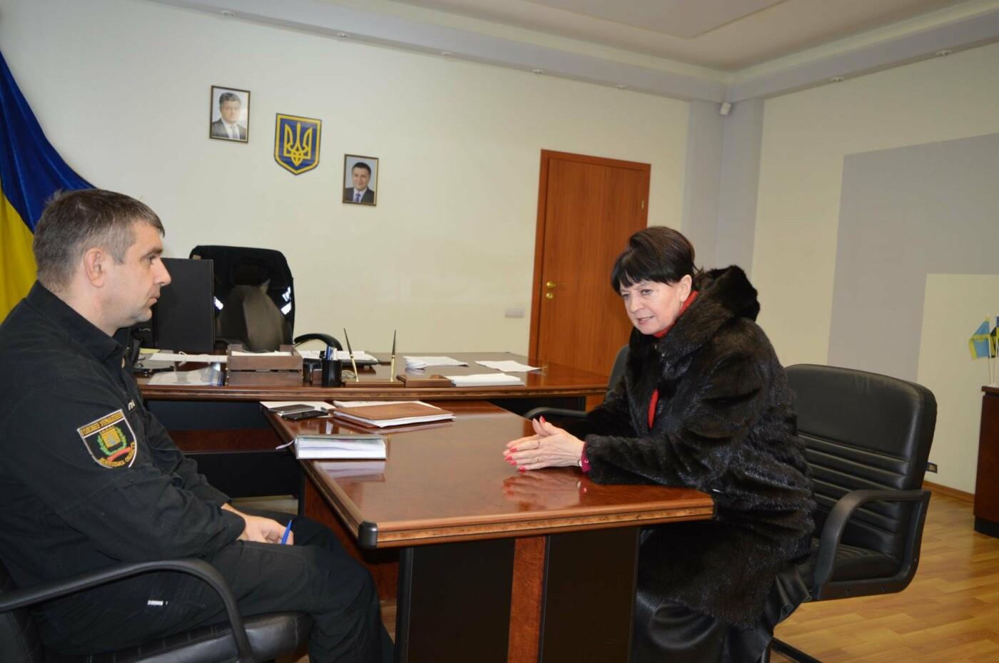 Полковник полиции Василий Поштак провел прием жителей Краматорска, фото-1