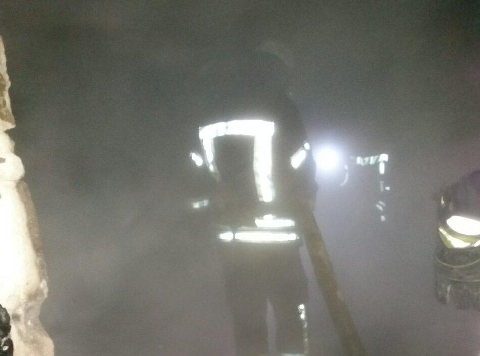 В Краматорске пожар унес жизнь двух людей, фото-1