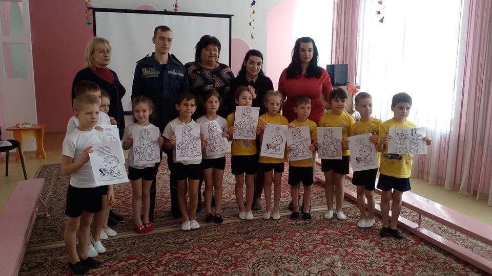 Спасатели Краматорска провели урок безопасности для дошкольников, фото-3