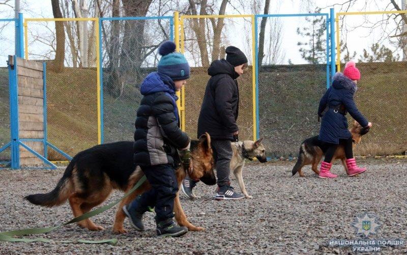 В полиции Краматорска открылась школа «Юный кинолог», фото-2