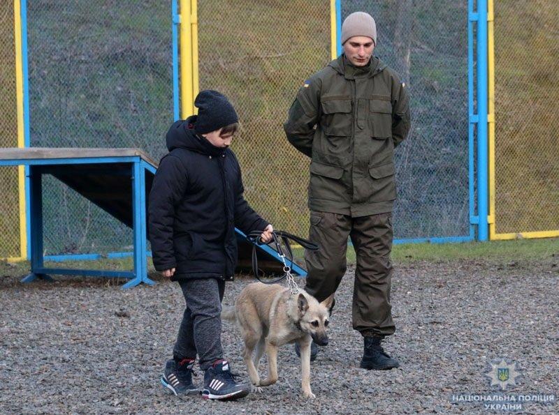 В полиции Краматорска открылась школа «Юный кинолог», фото-1
