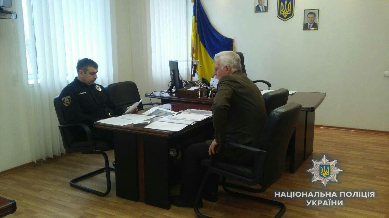 Начальник Краматорской полиции Василий Поштак провел личный прием граждан, фото-1