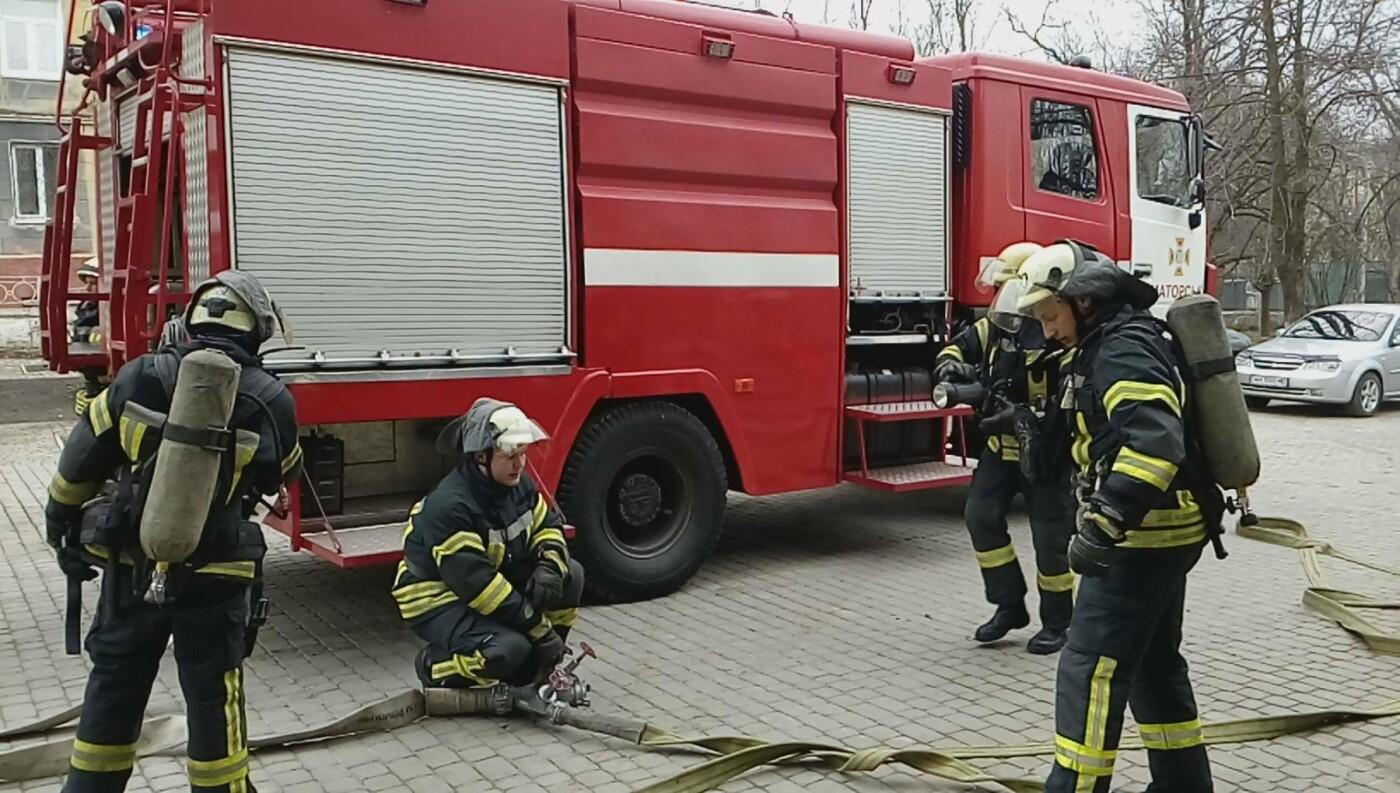 В Краматорске прошла учебно-тренировочная эвакуация в школе, фото-2