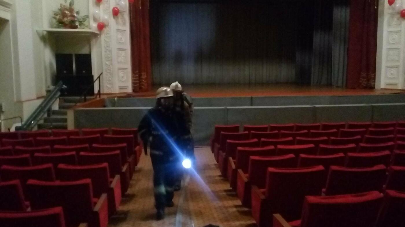 В Краматорске спасатели учили сотрудников ДК им. Быкова спасаться от пожаров, фото-2