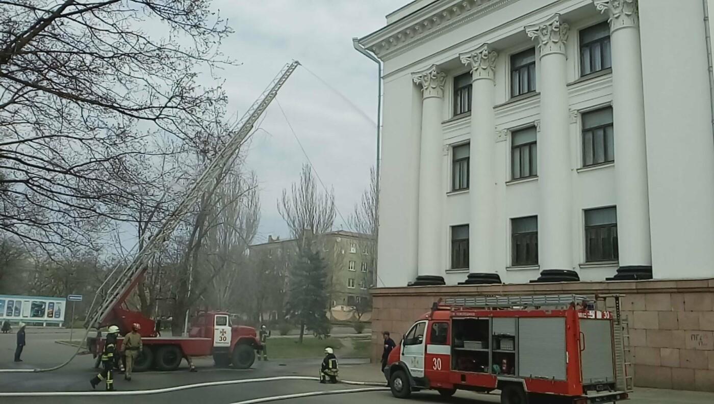 Сотрудники ГСЧС Краматорска «спасли» от пожара ДК, фото-1