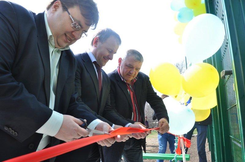В Краматорске для детей и молодежи Шабельковки открыли новое футбольное поле, фото-1
