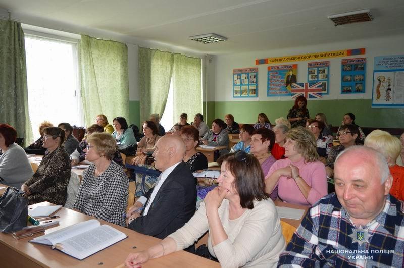 В рамках программы «Правовое образование взрослых» полицейские встретились с жителями Краматорска, фото-1
