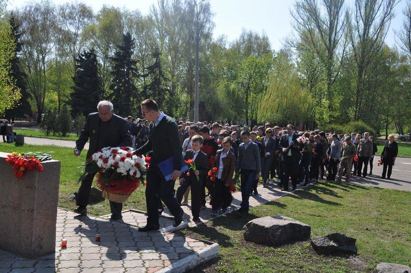 В Краматорске почтили память ликвидаторов ЧАЭС, фото-1