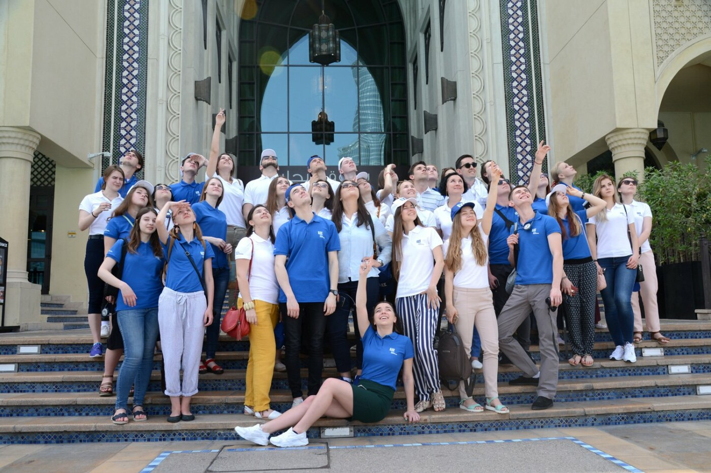 Борис Колесников показал студентам-архитекторам из Краматорска Дубай, фото-2