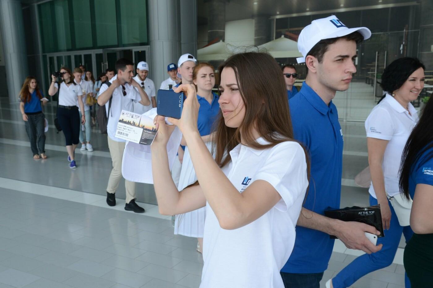 Борис Колесников показал студентам-архитекторам из Краматорска Дубай, фото-1