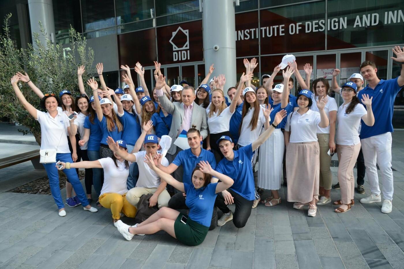 Борис Колесников показал студентам-архитекторам из Краматорска Дубай, фото-5