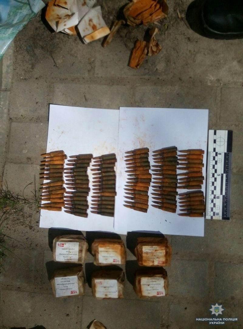 У жителя Краматорска полицейские изъяли патроны, фото-1