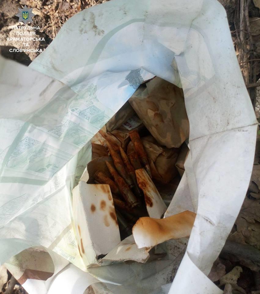 В центре Краматорска найден подпольный арсенал, фото-2