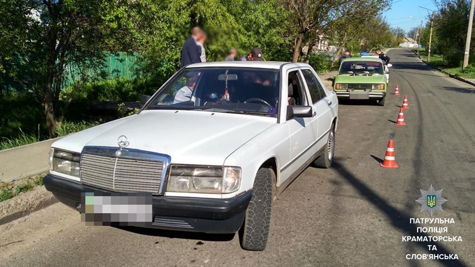 Нетрезвый водитель совершил ДТП в Краматорске, фото-1