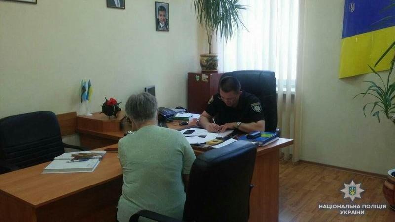Заместитель начальника Краматорской полиции встретился с жителями города, фото-1