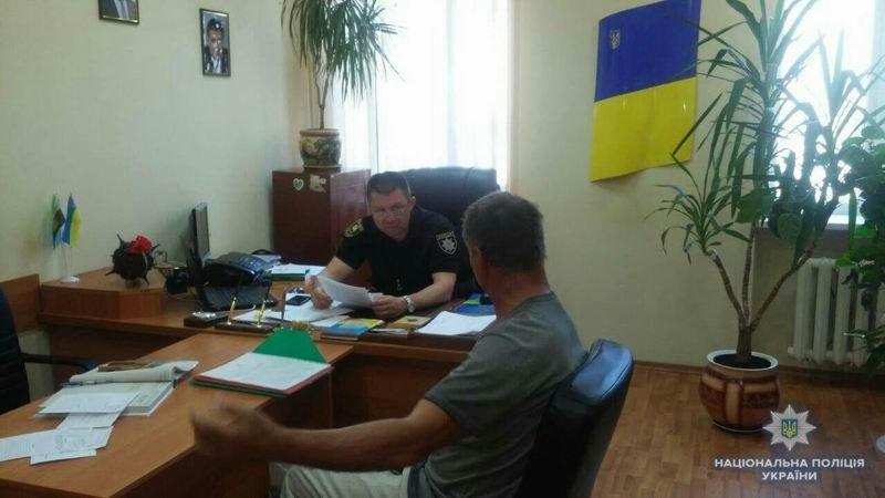 Заместитель начальника Краматорской полиции встретился с жителями города, фото-2