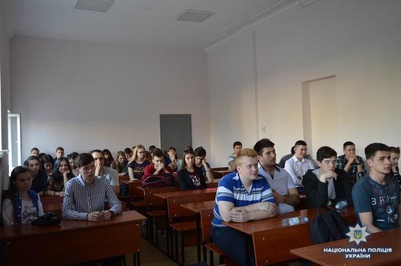 Полицейские Краматорска провели занятие со студентами-архитекторами, фото-2