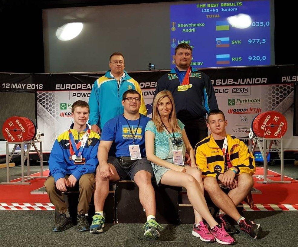 В Краматорске встретили победителей чемпионата Европы по пауэрлифтингу среди юниоров, фото-3
