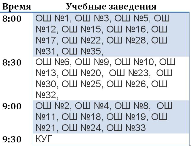 В Краматорске обнародовали график последних звонков в школах города, фото-1