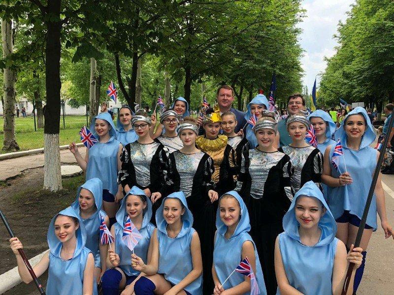 Краматорск принял участие в праздновании Дня Европы в Покровске, фото-1