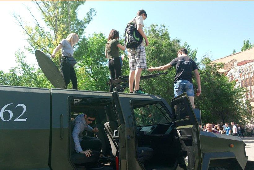 В Краматорске провели военные учебно-полевые сборы для старшеклассников, фото-5