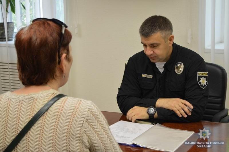 Полковник полиции Василий Поштак провел личный прием жителей Краматорска, фото-1