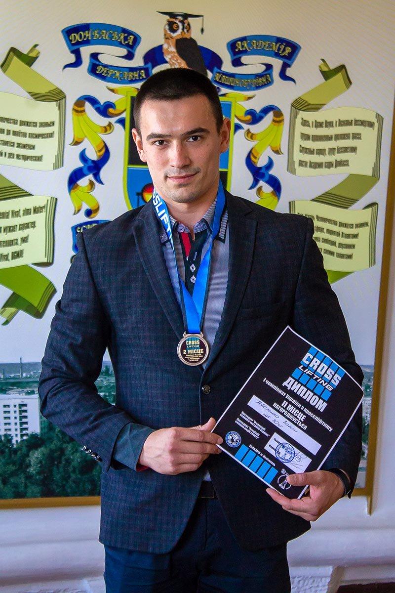 Студент ДГМА стал серебряным призером Всеукраинского чемпионата по кросслифтингу, фото-1