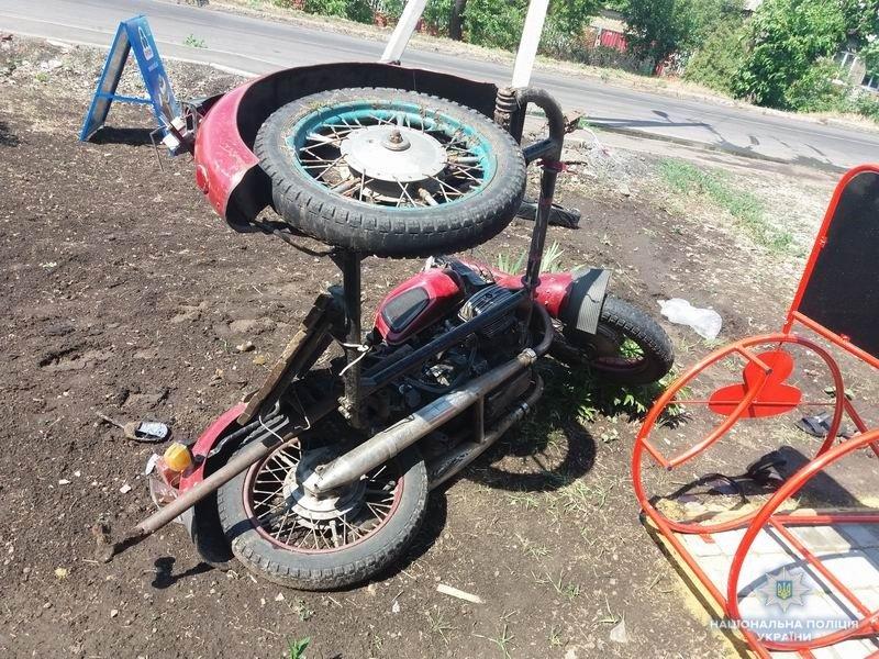 В Краматорске «ВАЗ» «подрезал» мотоциклиста: полиция ищет свидетелей, фото-1