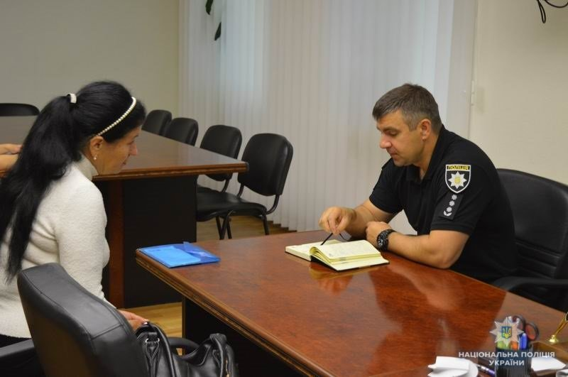 Начальник полиции Краматорска Василий Поштак встретился с местными жителями, фото-1