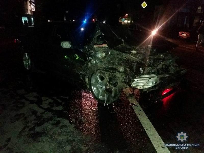 За сутки в ДТП пострадали трое краматорчан, полиция устанавливает обстоятельства опасных «ночных гонок», фото-2
