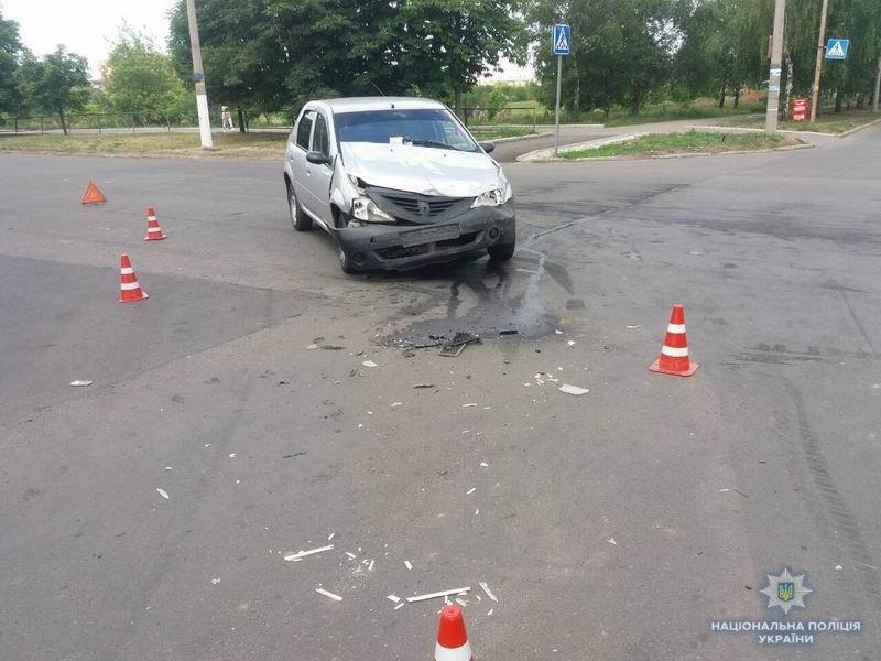 За сутки в ДТП пострадали трое краматорчан, полиция устанавливает обстоятельства опасных «ночных гонок», фото-1