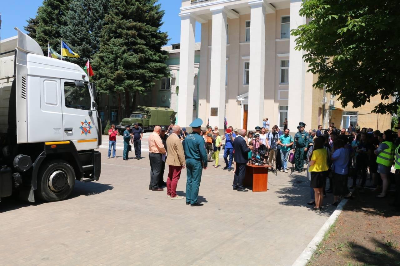 В Краматорск прибыла гуманитарная помощь из Республики Беларусь, фото-2