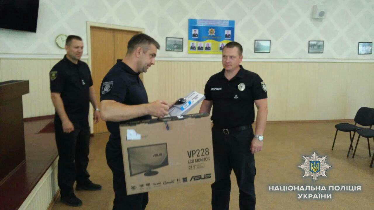Участковых офицеров полиции Краматорска поздравили с профессиональным праздником, фото-1