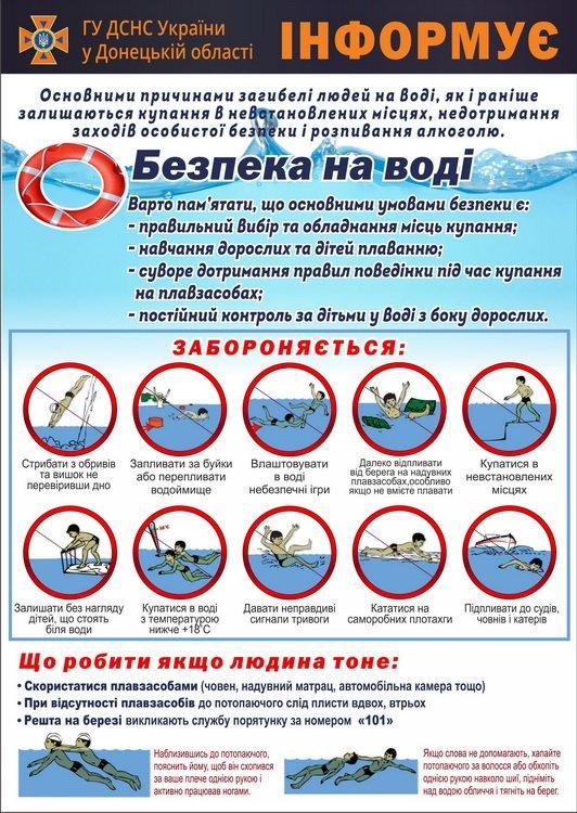 Краматорские спасатели напомнили отдыхающим правила купания , фото-2