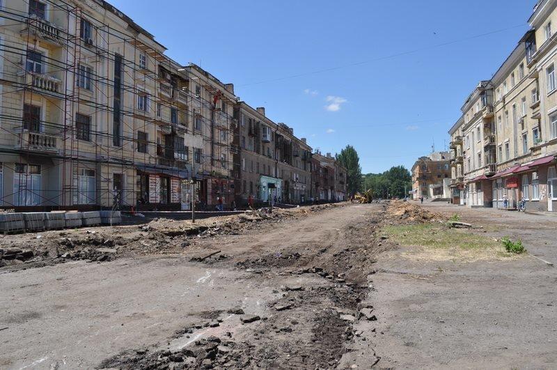 В Краматорске проверили ход выполнения реконструкции в Старой части города, фото-1